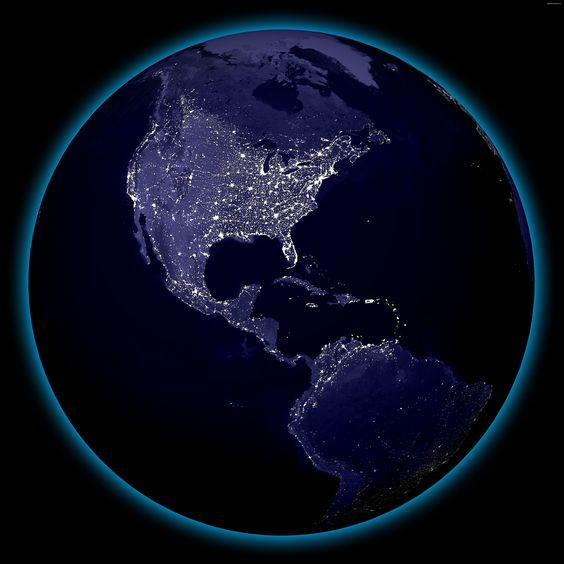 x 11 from space nasa earth at night - photo #17