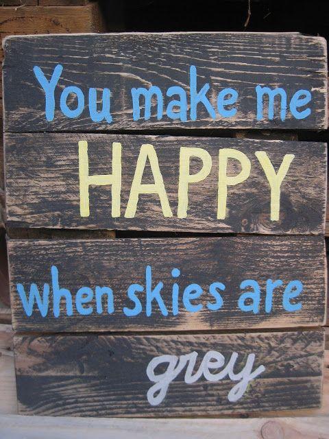 صور مكتوب عليها بالانجليزي لوصف السعادة Love Quotes For Her You Make Me Happy Good Morning Love