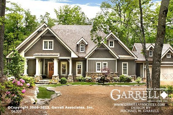 Cottage house plans cottage house and mountain cottage on pinterest - House exterior paint simulator plan ...
