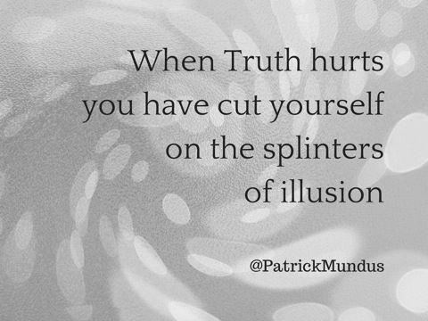 Als de waarheid pijn doet...