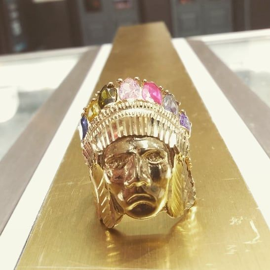 10k Indian Head Ring Only For 700 Instagram Special Price Come Grab It 10k Indian Head Ring Only For 70 Head Ring Forex Trading Strategies Class Ring