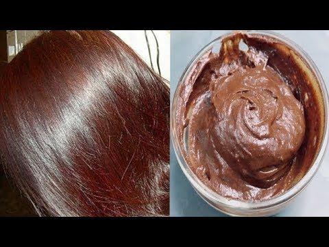 اصبغي شعرك للعيد لون بني بمكونات طبيعية بدون حناء ولا اكسجين وبدون شيب والنتيجة مذهلة ومجربة Youtube Coffee Hair Dye Coffee Hair Hair Remedies For Growth