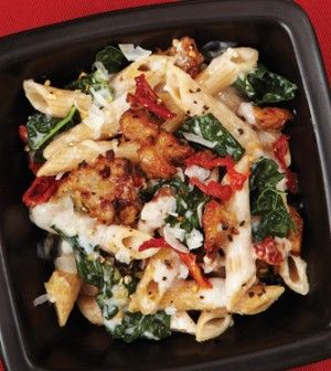 Baked Ziti with Creamy Kale & Sausage | Recipe | Spinach, Red peppers ...