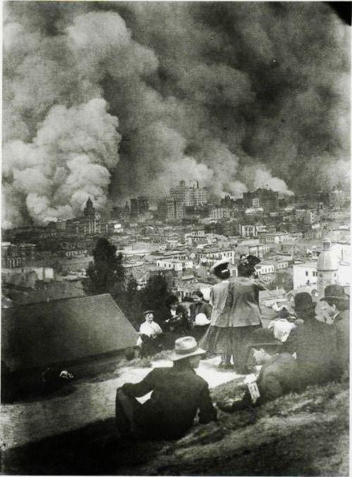 The San Francisco Earthquake and Fire, 1906