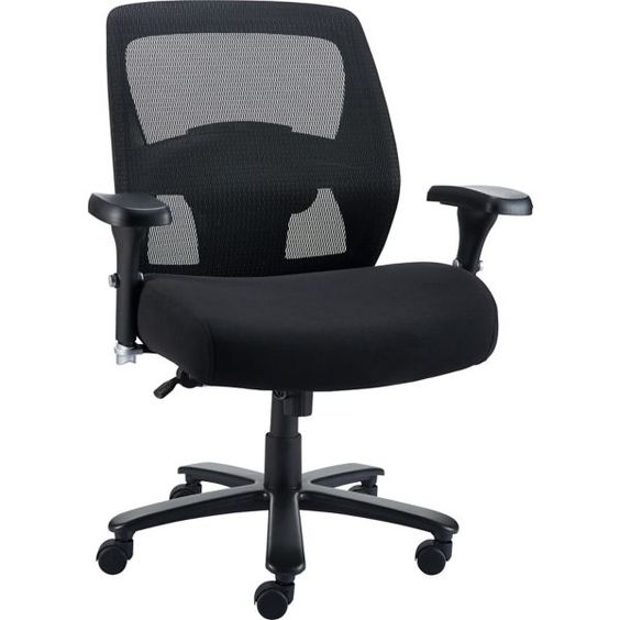 Staples Driscott Mesh Big and Tall Chair, Black | Staples