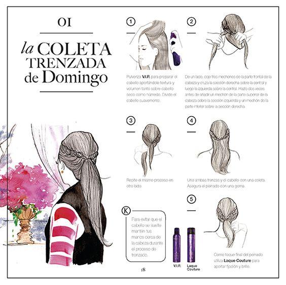 DOBLE COLETA TRENZADA DE DOMINGO