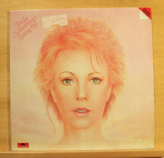 FRIDA - Something`s going on Vinyl LP ABBA I know theres something going on RARE
