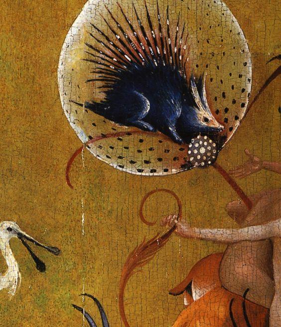 Hieronymus bosch le jardin des d lices le paradis for Le jardin imaginaire
