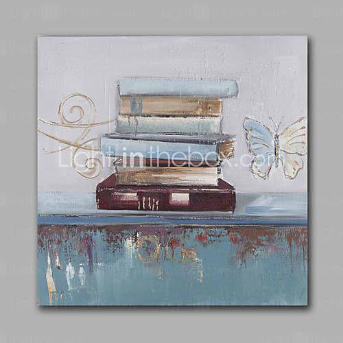 Peint à la main Abstrait Peintures à l'huile,Modern Un Panneau Toile Peinture à l'huile Hang-peint For Décoration d'intérieur de 5027469 2016 à €70.55