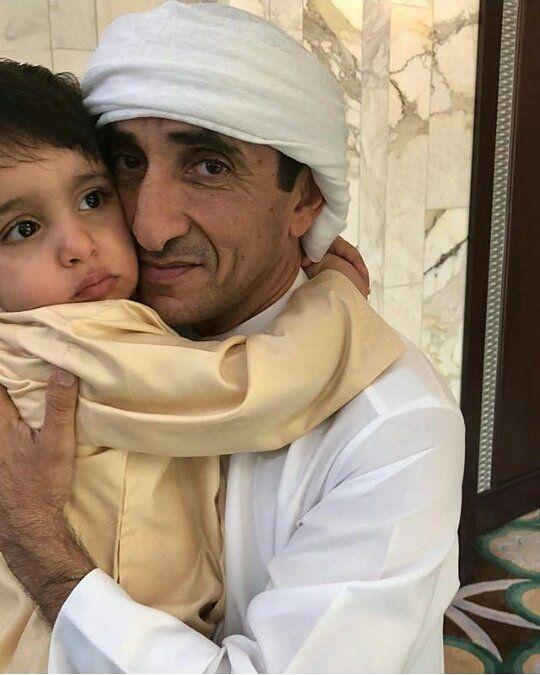 Rashid Bin Mohammed Bin Hamad Al Sharqi Y Su Tio Abuelo Saeed Bin Maktoum Bin Juma Al Maktoum 02 03 2018 Via Uncle Saeed