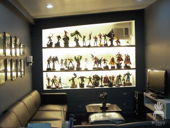 Action Figure Display Collectible Displays Pinterest