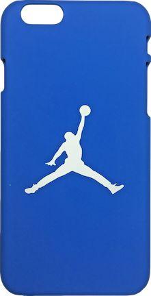 "Nike Jordan Royal Blue White ""Jumpman Logo"" Hard Plastic iPhone 6/6s Case"