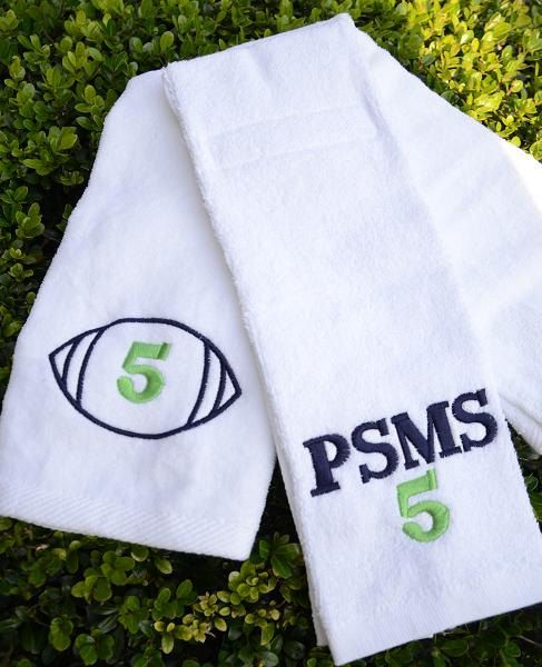 Personalized Golf, Baseball, Basketball Or Bowling Towels