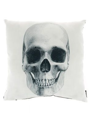 Lava 'Skull' Decorative Pillow