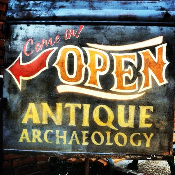 What kind of merchandise does Antique Archaeology from