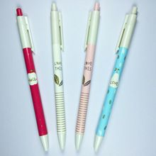4 unids naturaleza de la novedad lindo Gel Ink Pen bolígrafos promocionales…