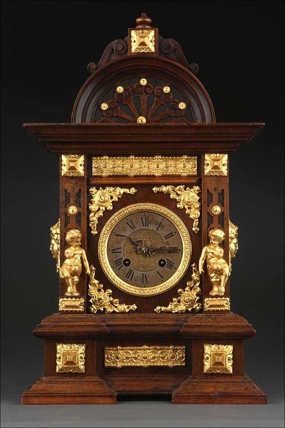 reloj de sobremesa antiguo, relojes antiguos, antiguedades del hogar…