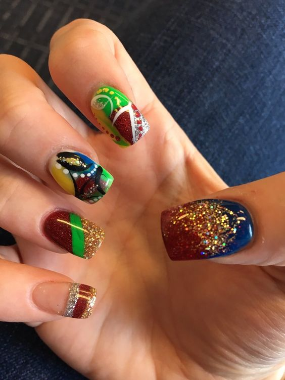 Luxury Spa Nails - Bowie, MD, United States. I Love when Layna does my nails!! Always