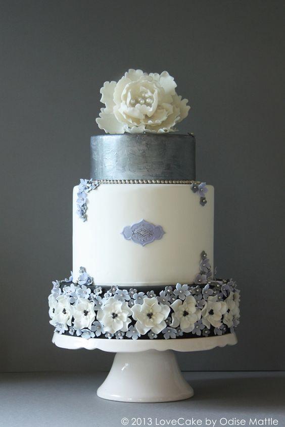 ... silber von love cake by odise mattle 30 jahre hochzeitstorte silber
