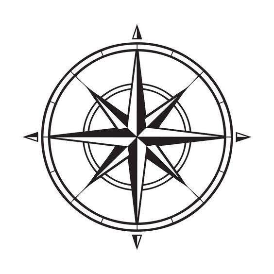 Gallery For gt Nautical Compass Rose Drawing
