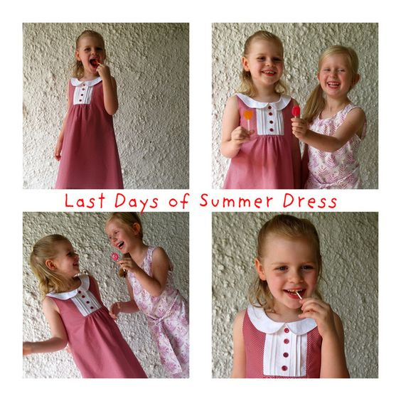Beyond the Basics - The Last Days of Summer Dress.