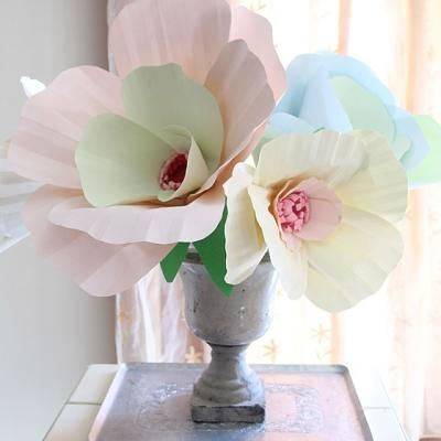 Giant Paper Flower Bouquet {Centerpiece}