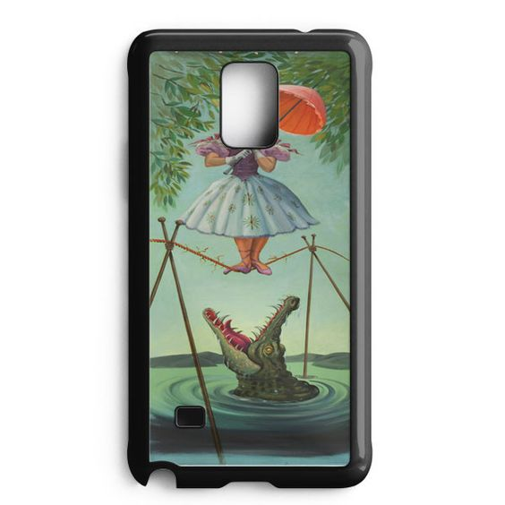 Haunted Mansion Painting Samsung Galaxy Note Edge Case