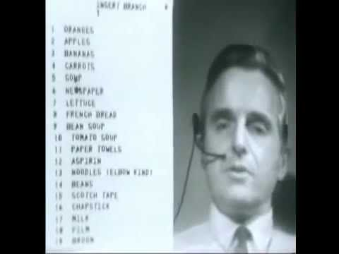 The Mother of All Demos, presented by Douglas Engelbart (1968) - YouTube