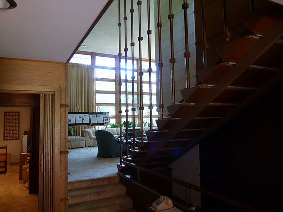 James mcbean house usonian style frank lloyd wright - The marshall plan was designed to ...