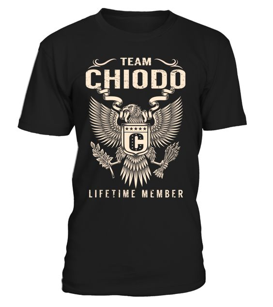 Team CHIODO Lifetime Member