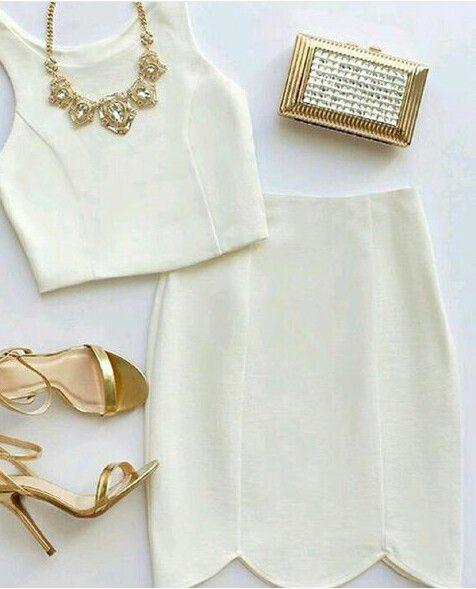 Croped branco