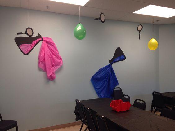 Agency D3 Craft Room Decoration