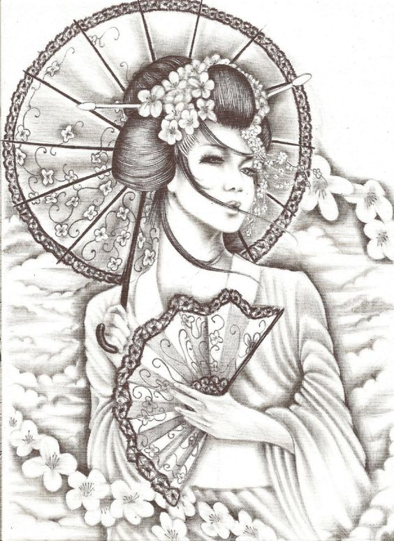 Image from http://www.tattoosforyou.org/wp-content/uploads/2013/11/Geisha-Samurai-Tattoo.jpg.