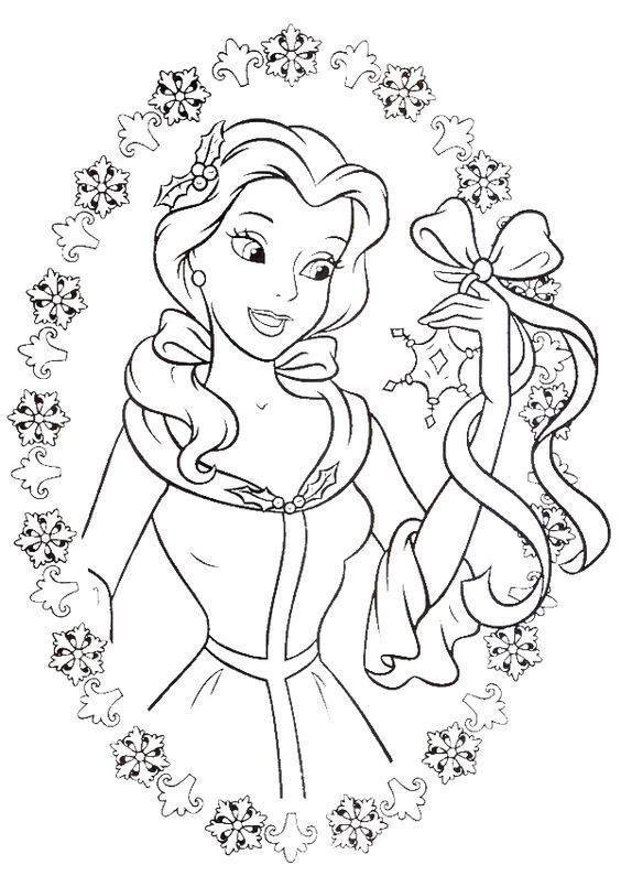 ร ปภาพการ ต นระบายส ร ปภาพระบายส สวยๆสำหร บเด ก โหลดได ท น Rapunzel Coloring Pages Princess Coloring Pages Belle Coloring Pages