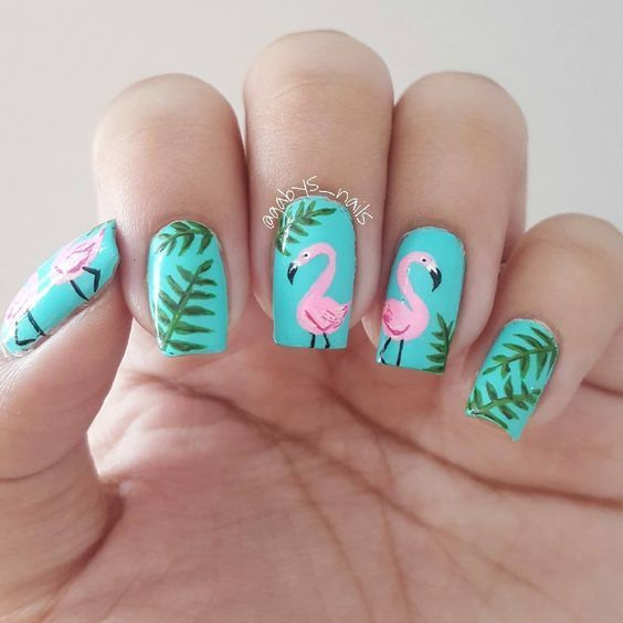 57 Nail Designs That Are So Perfect For Summer 2019 Bright Nail