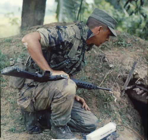 1//6 Scale Very Rare USA MACV-SOG Vietnam Tiger Stripes Combat Uniforms