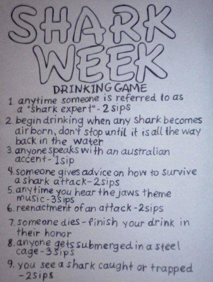 shark week*