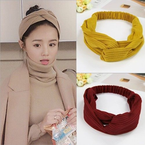 Material Turban Headband Craft Knot Headband Headbands Style Korean Hair Accessories Material Acetate Acrylic Cotton Ebay Tekstiler