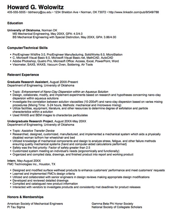 Sample Of Structural Engineer Resume - http\/\/exampleresumecvorg - it engineer sample resume