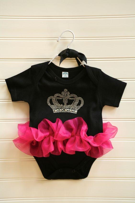 Princess Crown Onesie