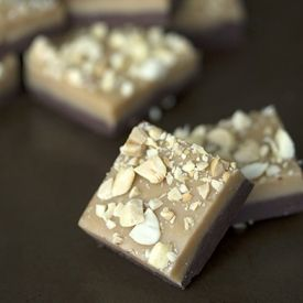 Quick and easy peanut butter and chocolate fudge. | Dessert Yumminess ...