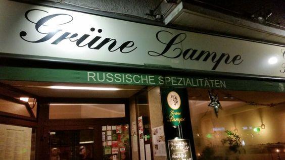Grüne Lampe in Berlin, Berlin