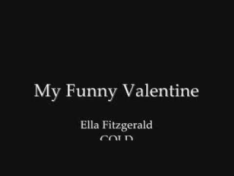 my funny valentine jazz lyrics