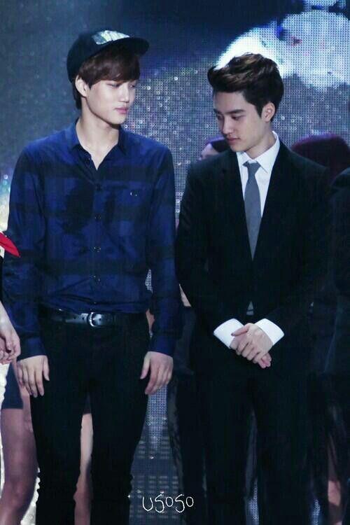 Exo Kai and D.O