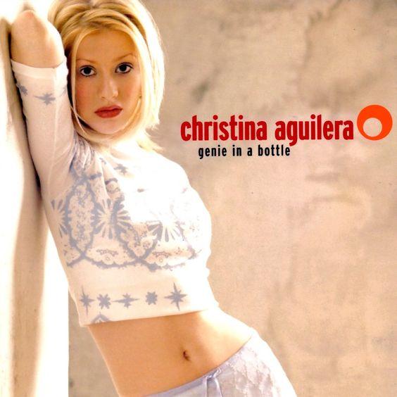 Christina Aguilera – Genie in a Bottle (single cover art)