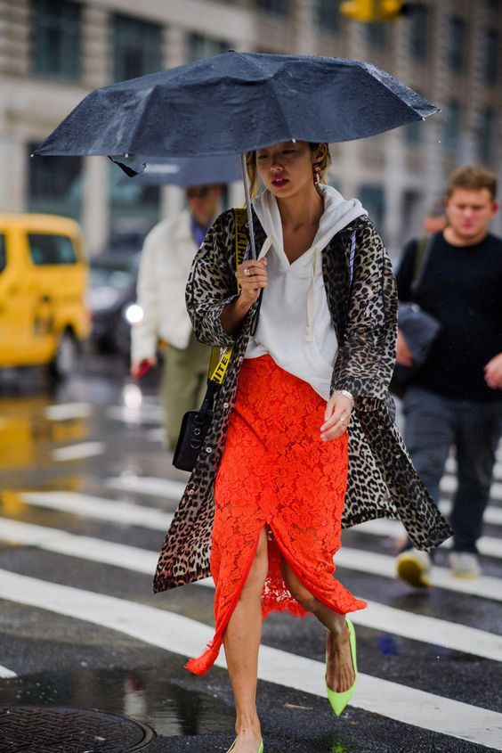The Best Street Style at New York Fashion Week Day 6- HarpersBAZAAR.com #newstreetfashion