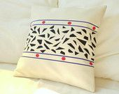 Cotton pillow cover inspired by mosaics -Trencadis-