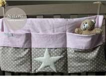 Bettutesilo für Babyzimmer ♥ Aufbewahrung