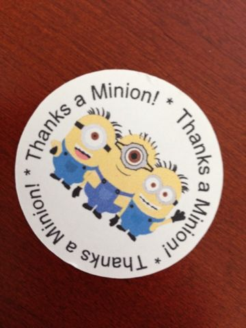 Created by Missie: Thanks a minion