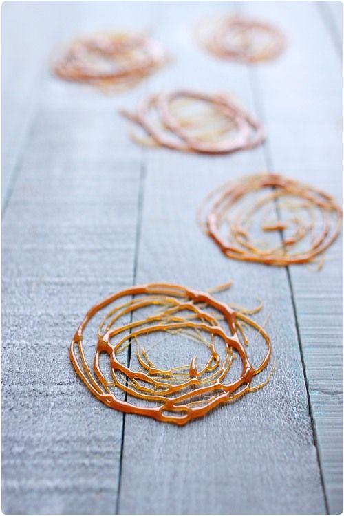 Maîtriser le caramel : cuisson et décorations : Les Cercles .....
